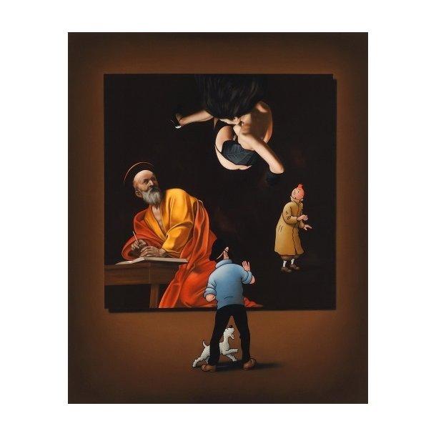 Ole Ahlberg - Caravaggio's Angel, 2019